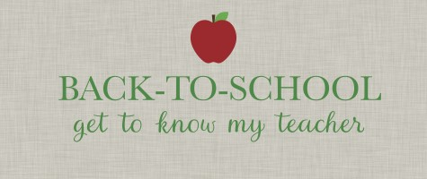 Get to know your teacher blog post feature